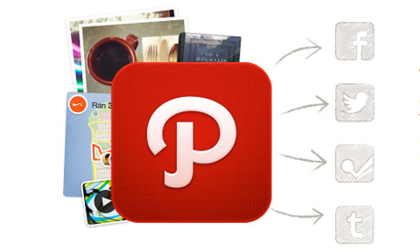 A screengrab from the Path social network
