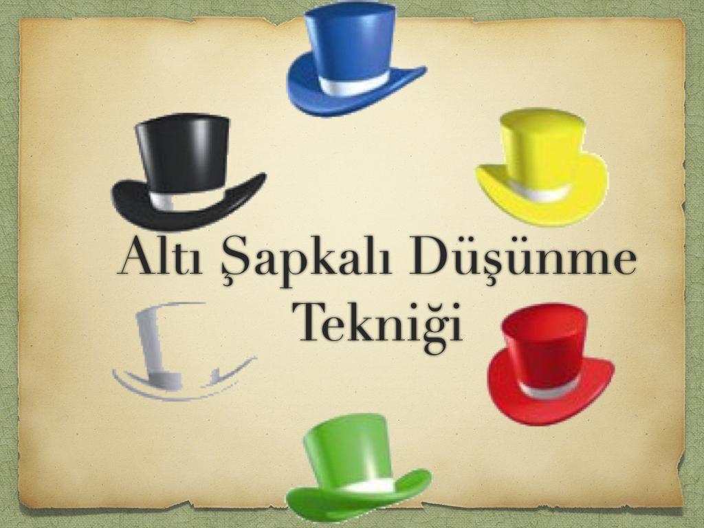 Altı Şapka Sunumu(www.ademcamlikaya.com).001